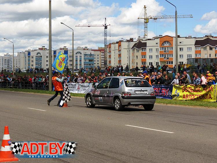 Чемпионат Беларуси – 2016 по скоростному маневрированию, 4-ый этап, Борисов