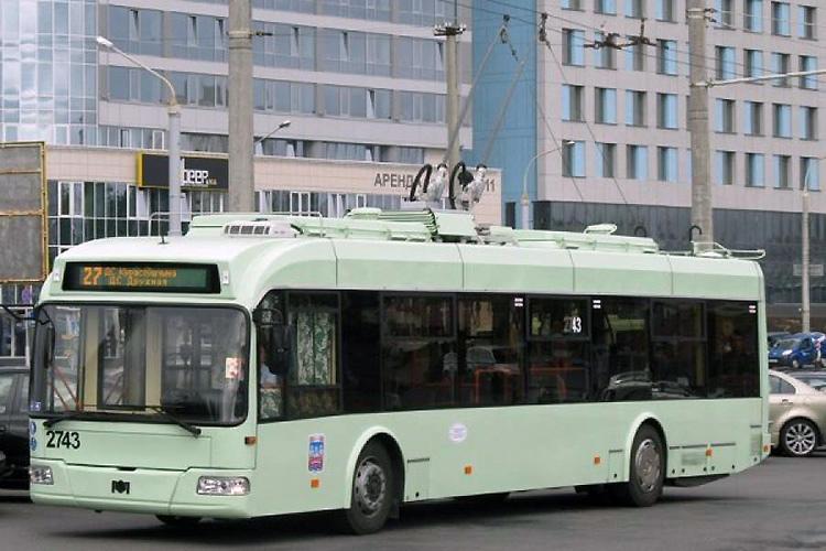 В минском троллейбусе задержали эксгибициониста
