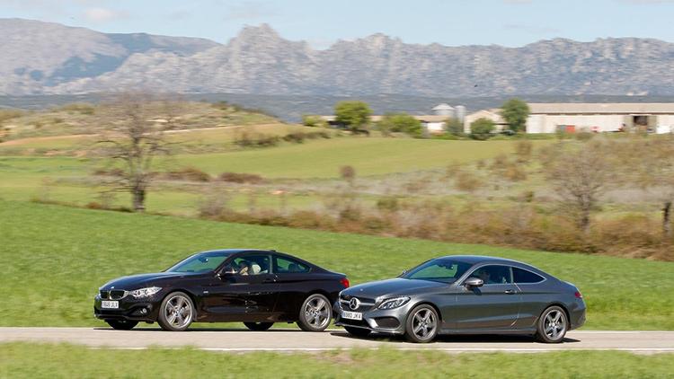 BMW 4 vs Mercedes-Benz C Coupe: и вновь начинается бой
