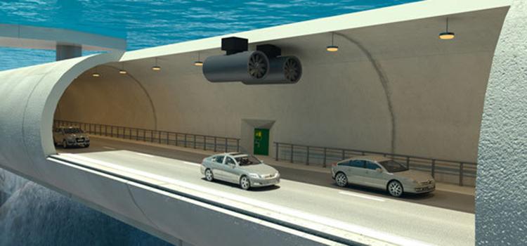 В Норвегии собираются построить подводный тоннель