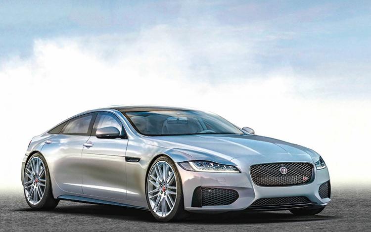 Jaguar выпустит люксовую модель на электротяге.