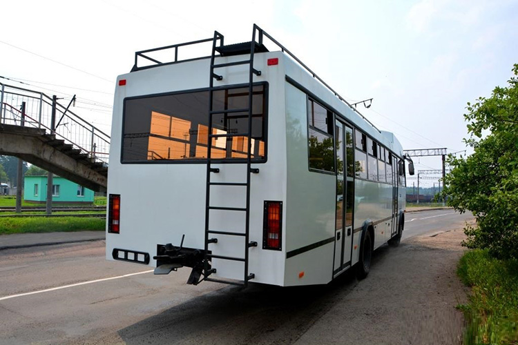 Завод МАЗ изготовил автобус для африканских стран