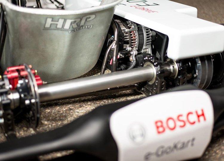 Благодаря Bosch гоночные карты становятся тихими и экологичными