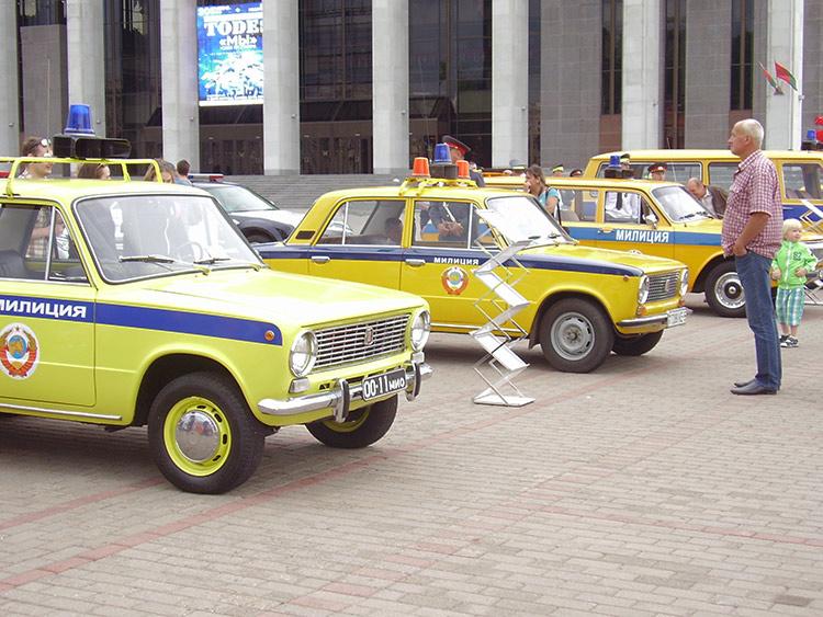 В Минске отметили 80-летие ГАИ