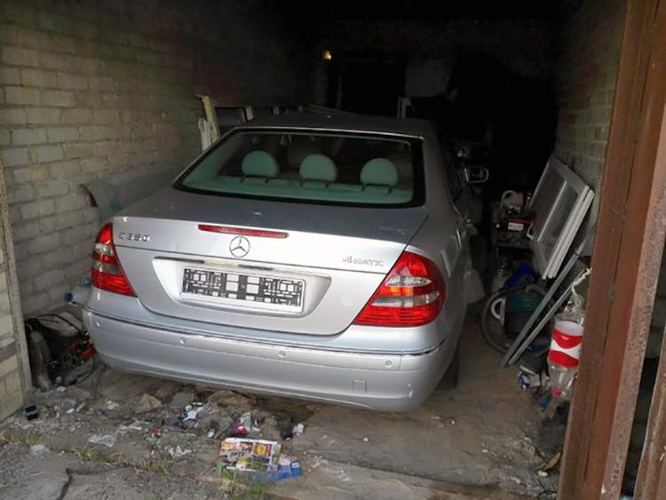 Инспекторы нашли Mercedes, из-за которого столкнулись две машины ГАИ