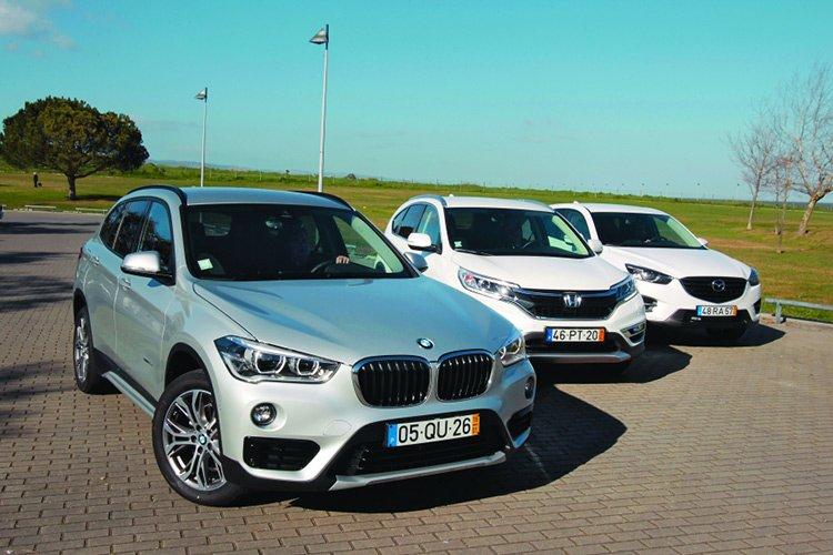 BMW X1 vs Honda CR-V и Mazda CX-5: сведение счетов