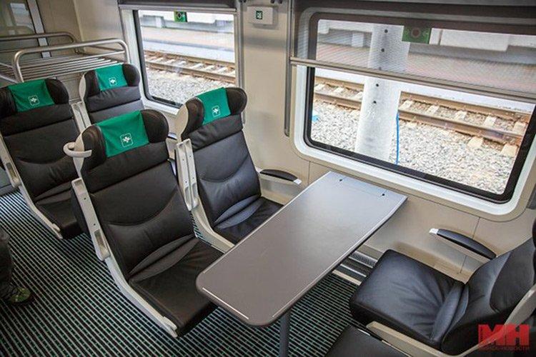 Первый в Беларуси поезд с бесплатным Wi-Fi начал курсировать между Гомелем и Минском