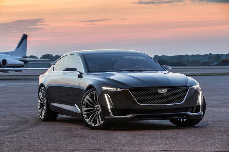 Новый флагман Cadillac обретет европейские черты