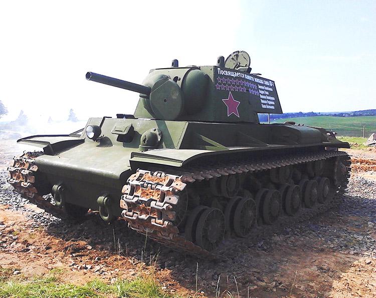 На «Линии Сталина» увековечили подвиг танкиста Зиновия Колобанова и его роты