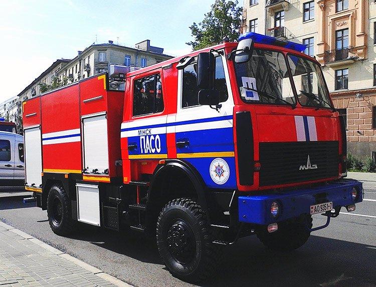 Автомобили для пожарных и спасателей «Made in Belarus»