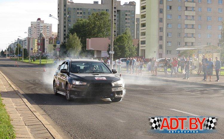 В Витебске прошел Кубок ADT.BY среди виртуозов руля