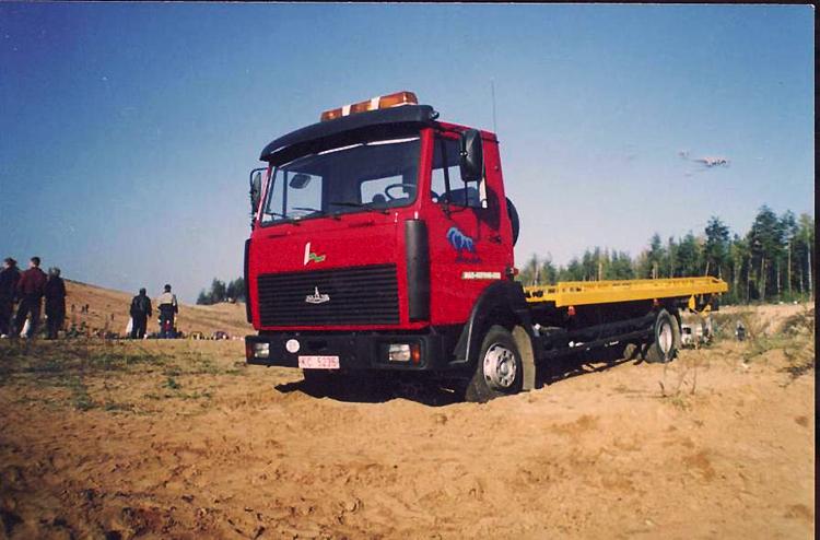МАЗ-437040-32 – первый автоэвакуатор Минского автозавода