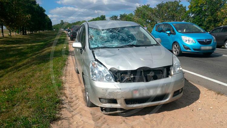 Под Солигорском беременная женщина-водитель сбила двух детей на велосипедах
