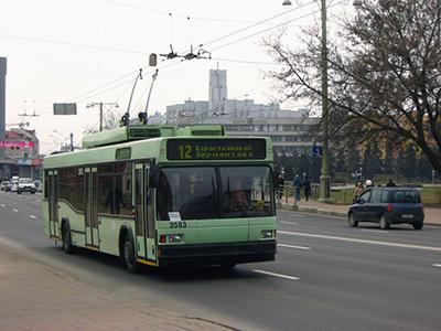 Из-за закрытия движения троллейбусов по пл. Ф.Богушевича изменяются маршруты