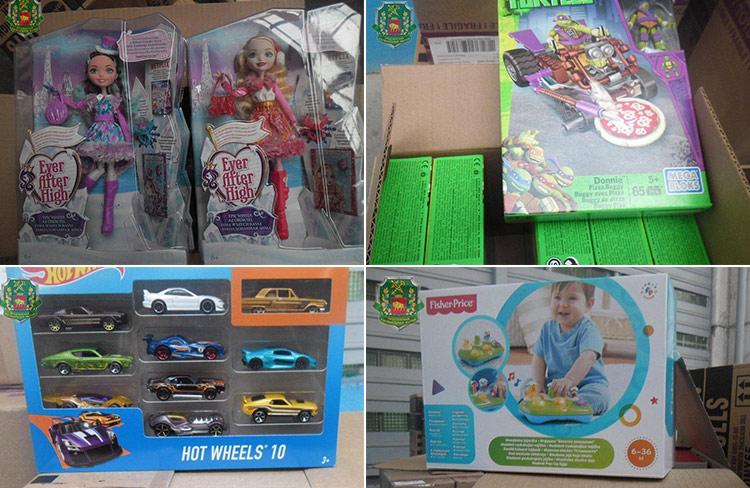 Игрушки стоимостью более 200 рублей изъяты в «Бенякони»