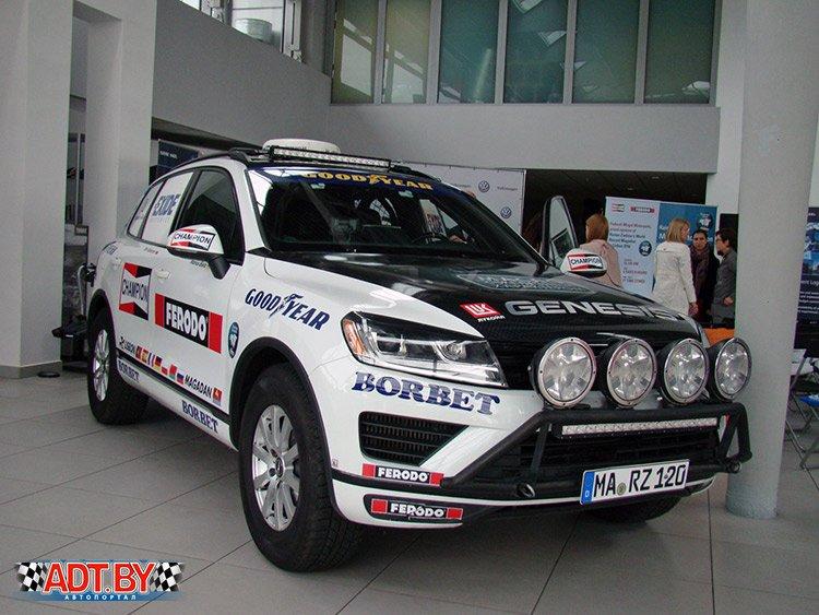 VW Touareg отпраздновал возвращение в Беларусь