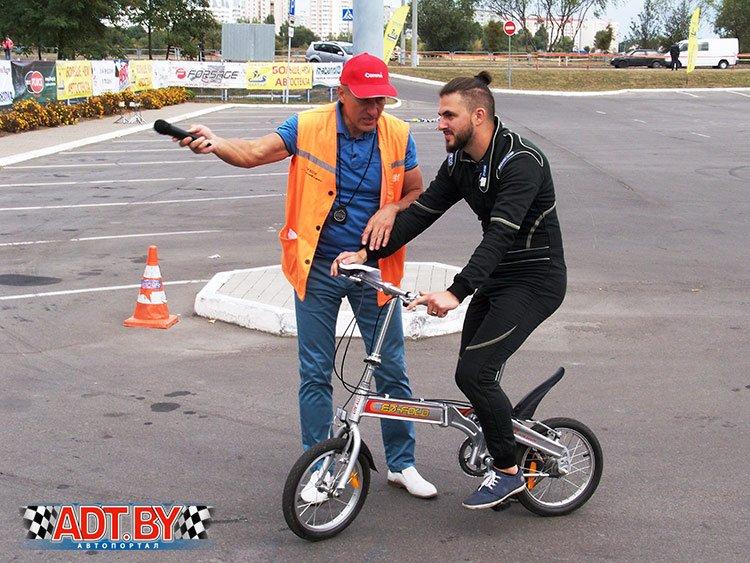 Акция «Спортсмены – за безопасность дорожного движения»-2016. 4-ый этап, Гомель