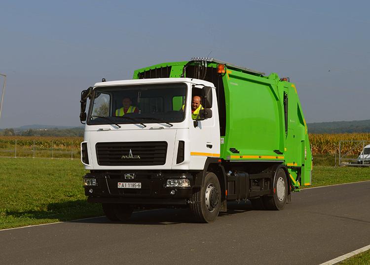 МАЗ плюс GeesinkNorba. Новые модели мусоровозов