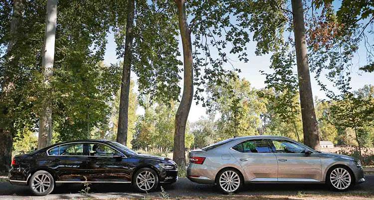Skoda Superb vs VW Passat: чешское или немецкое?