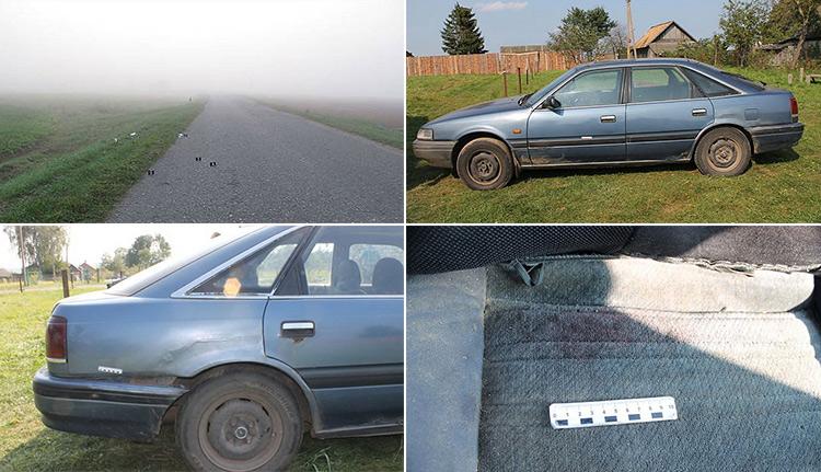 В Гродненском районе водитель пытался запутать следствие