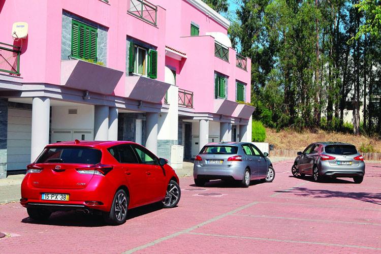 Nissan Pulsar, Peugeot 308 и Toyota Auris: торжество рационализма