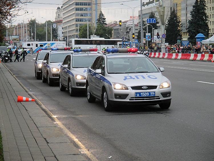 Байкеры в Минске закрыли сезон