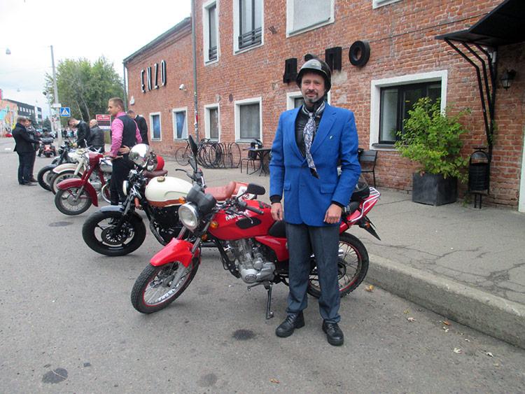 "Мотопробег ""The Distinguished Gentleman's Ride"""