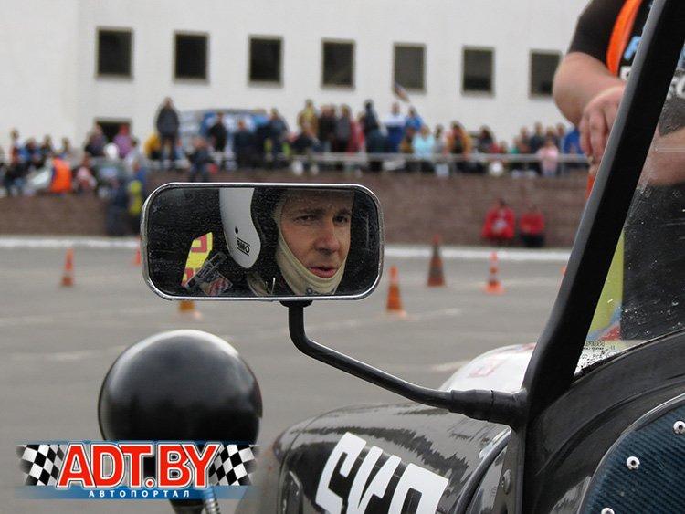 Дмитрий Баркан на акции в Гомеле