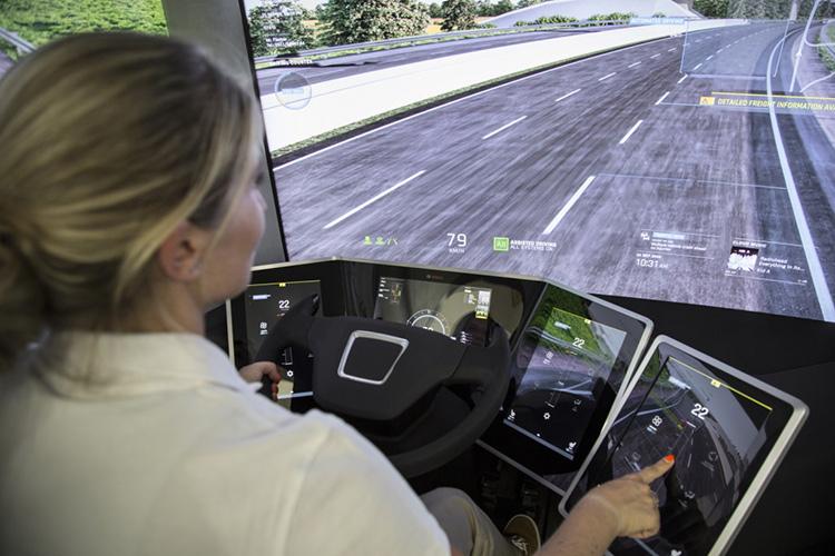 Bosch VisionX демонстрирует, какими будут грузовики в 2026 году