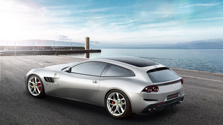 Ferrari GTC4 Lusso подружился с турбо