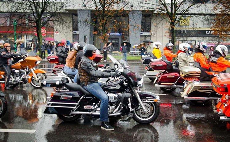 24 сентября закрытие мотосезона «Harley Davidson»