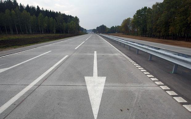 Налог с водителей должен был пойтина ремонт дорог...