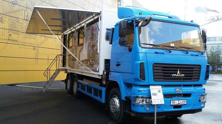 Автомобиль-офис на газовом шасси МАЗ-631223