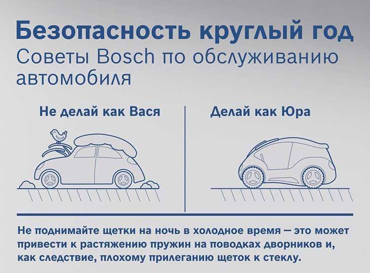 Компания Bosch поздравляет автолюбителей с праздником!