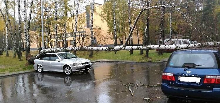 В Минске стихия снова разгулялась