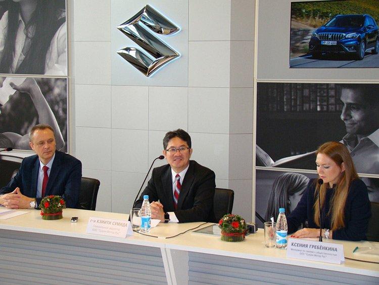 Suzuki возвратился в Беларусь