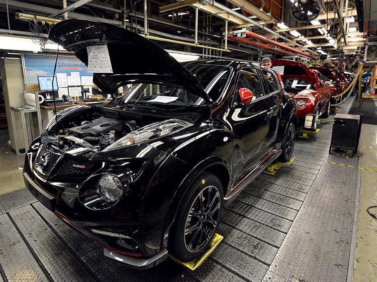 Производство Nissan Juke в Великобритании под угрозой