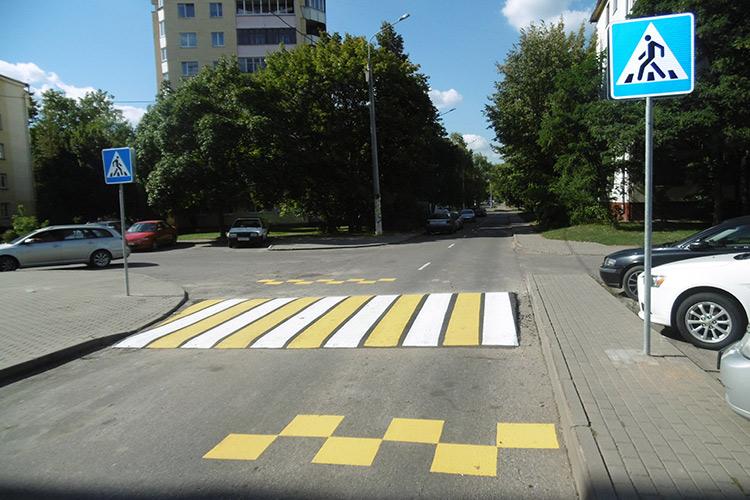 Новые пешеходные переходы появились в Заводском районе