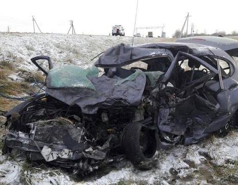 В Воложинском районе в ДТП погибли два человека