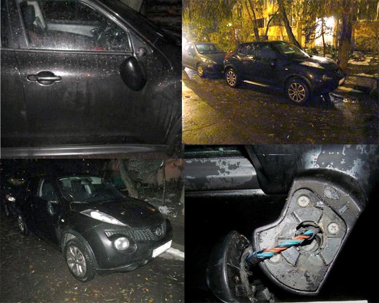 В Минске пьяный хулиган бил чужие автомобили