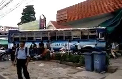 Автобус в Таиланде протаранил 18 автомобилей, 43 мотоцикла и сбил 12 пешеходов