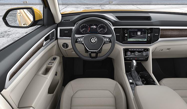 Самый большой кроссовер VW будет продаваться в России