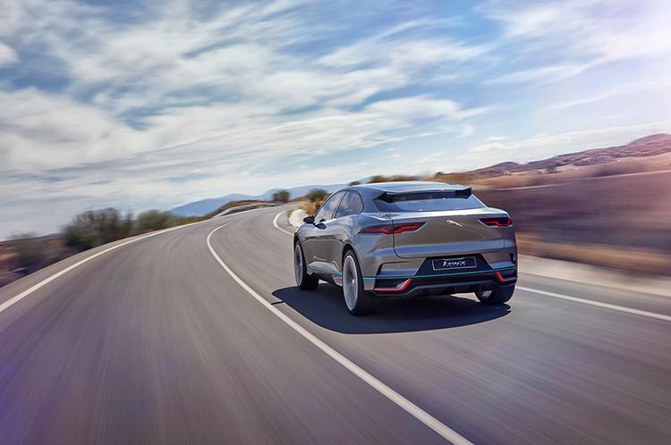 Будущий электрокроссовер Jaguar обрел форму