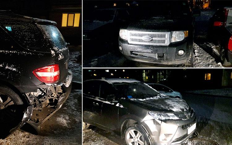 В Минске мужчина на Volkswagen повредил пять авто