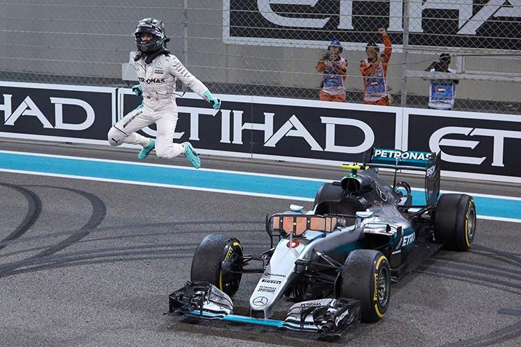 """Формула-1"". Гран-при Абу-Даби. Нико Росберг – чемпион!"