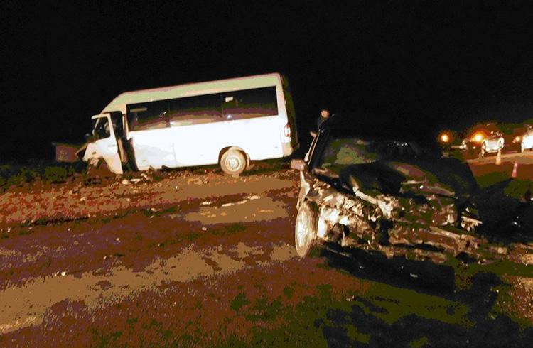 В Гродно маршрутка столкнулась с Volvo: пострадало 5 человек