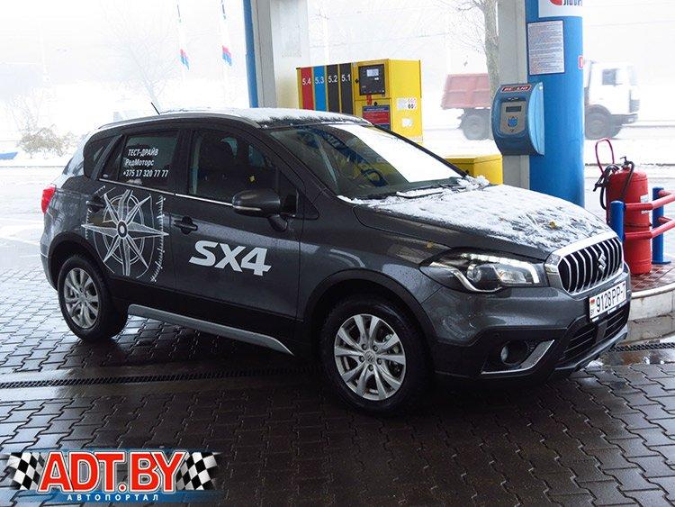 24 часа вместе с обновленной Suzuki SХ4