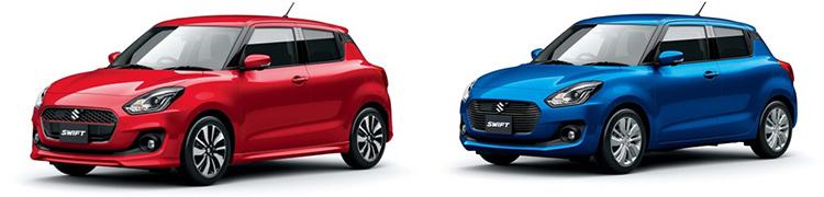 Новый Suzuki Swift дебютировал в Японии