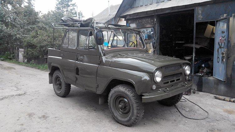 УАЗ-469 – новое приобретение Василия Терешко