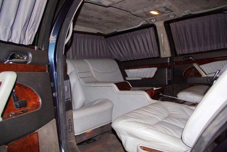 В Германии выставлен на продажу лимузин Путина